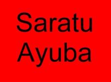 1 Saratu Ayuba