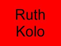 10 Ruth Kolo
