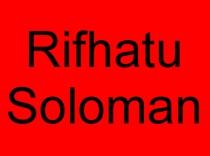 19 Rihatu Solomon