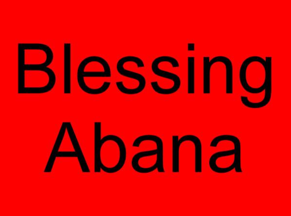 60 Blessing Abana