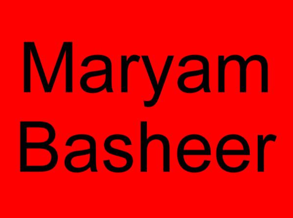 63 Maryam Basheer