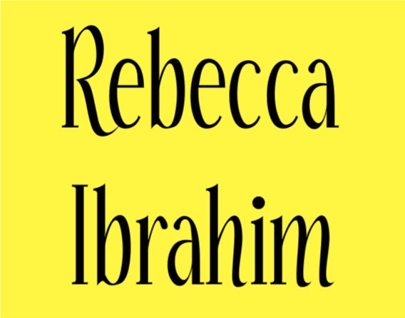 71 Rebecca Ibrahim