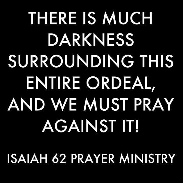 News on the Chibok Girls!: The Need for Prayer | ISAIAH 62 PRAYER