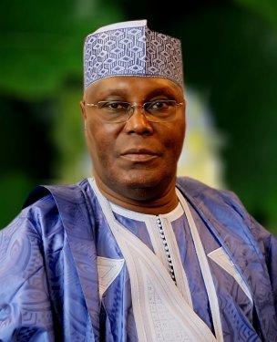 Atiku Abubukar, part of the People's Democratic Party.
